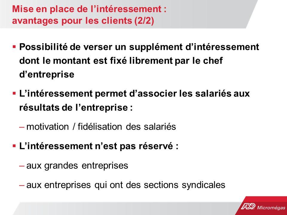 Mise en place de l'intéressement : avantages pour les clients (2/2)