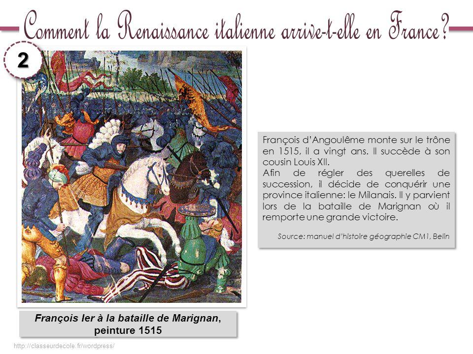 François Ier à la bataille de Marignan,