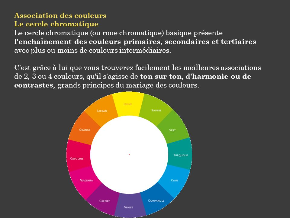 Les bases d un relooking ppt video online t l charger - Associations de couleurs ...