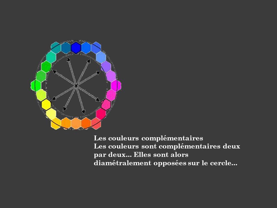 Les couleurs complémentaires