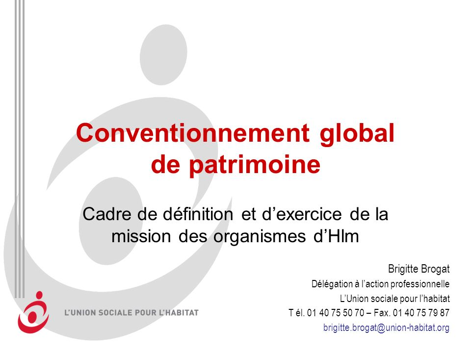 Conventionnement global de patrimoine