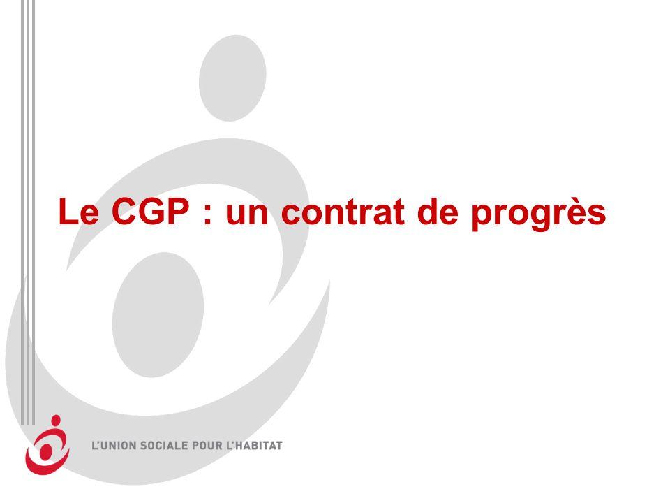 Le CGP : un contrat de progrès