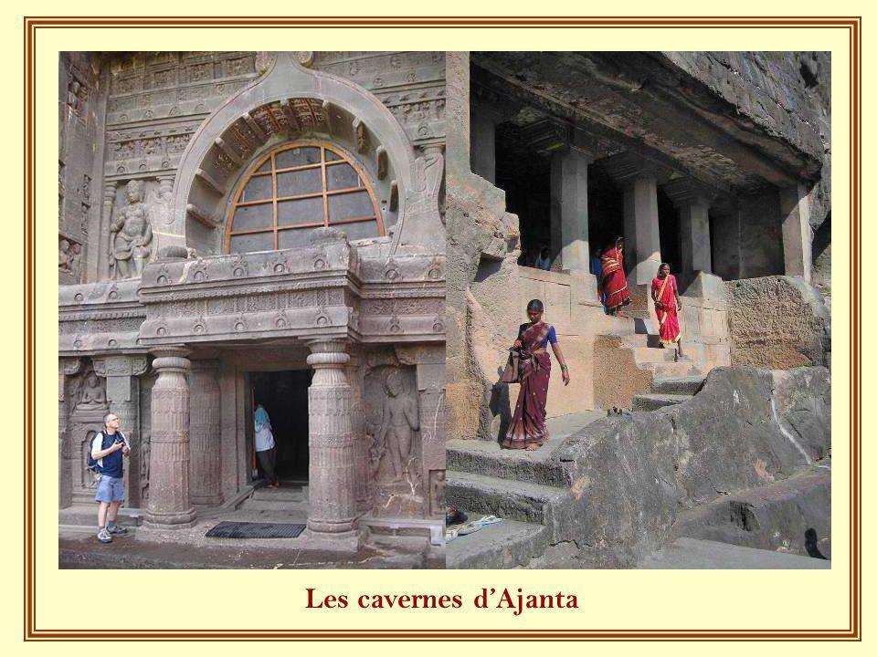 Les cavernes d'Ajanta
