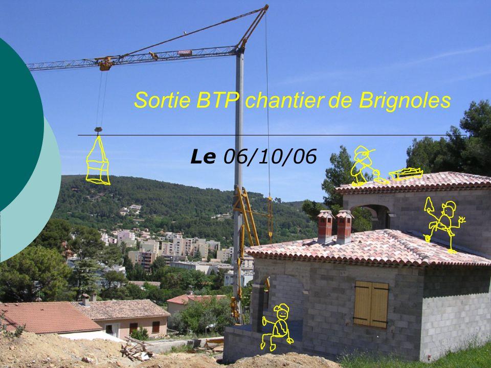 Sortie BTP chantier de Brignoles