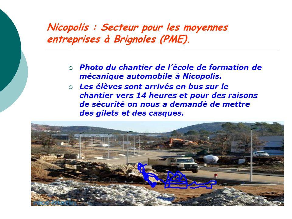 Nicopolis : Secteur pour les moyennes entreprises à Brignoles (PME).