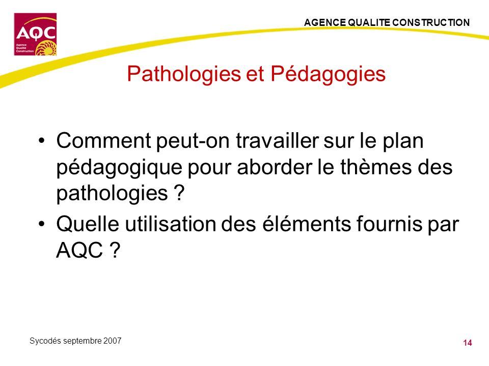 Pathologies et Pédagogies