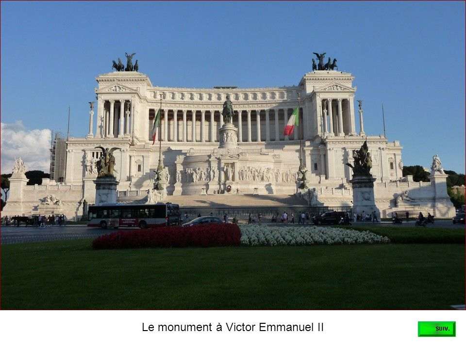 Le monument à Victor Emmanuel II