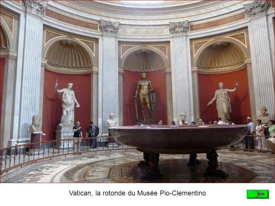 Vatican, la rotonde du Musée Pio-Clementino