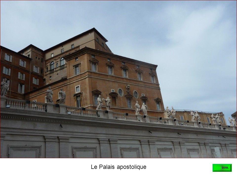 Le Palais apostolique