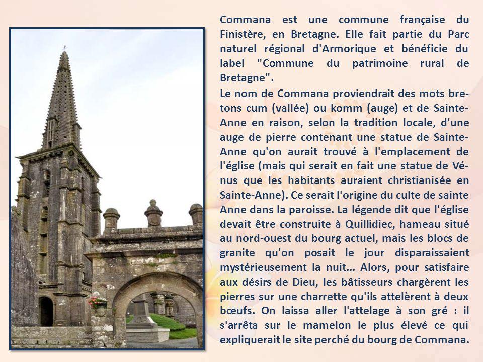 Commana est une commune française du Finistère, en Bretagne