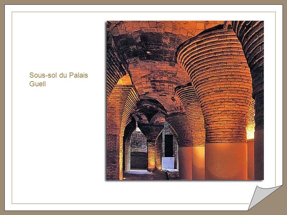 Sous-sol du Palais Guell