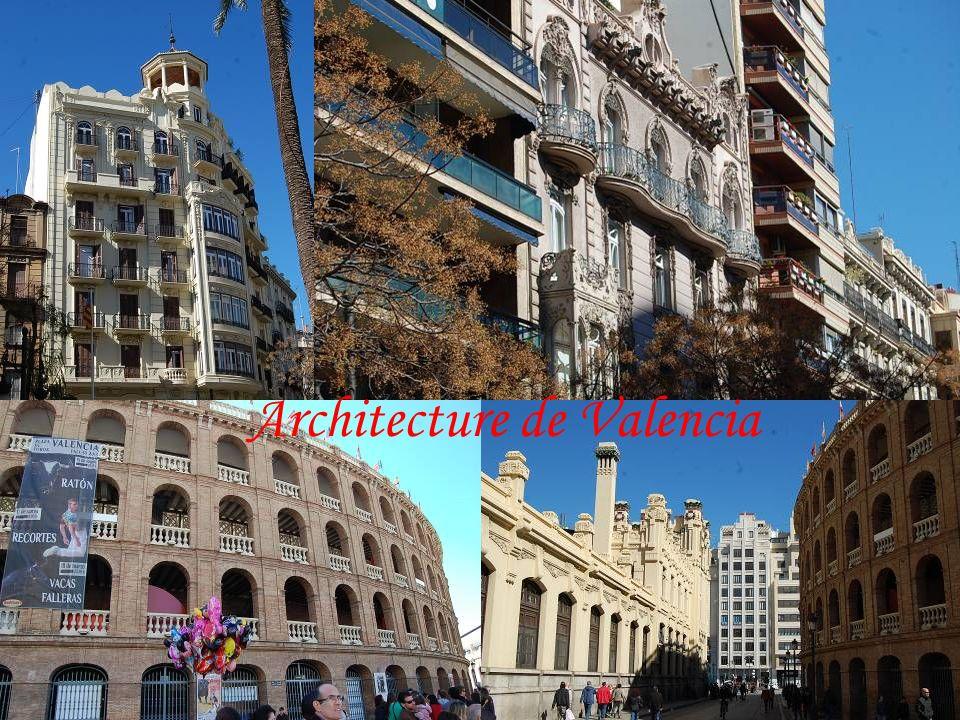 Architecture de Valencia