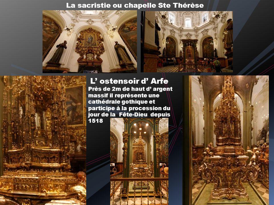 La sacristie ou chapelle Ste Thérèse