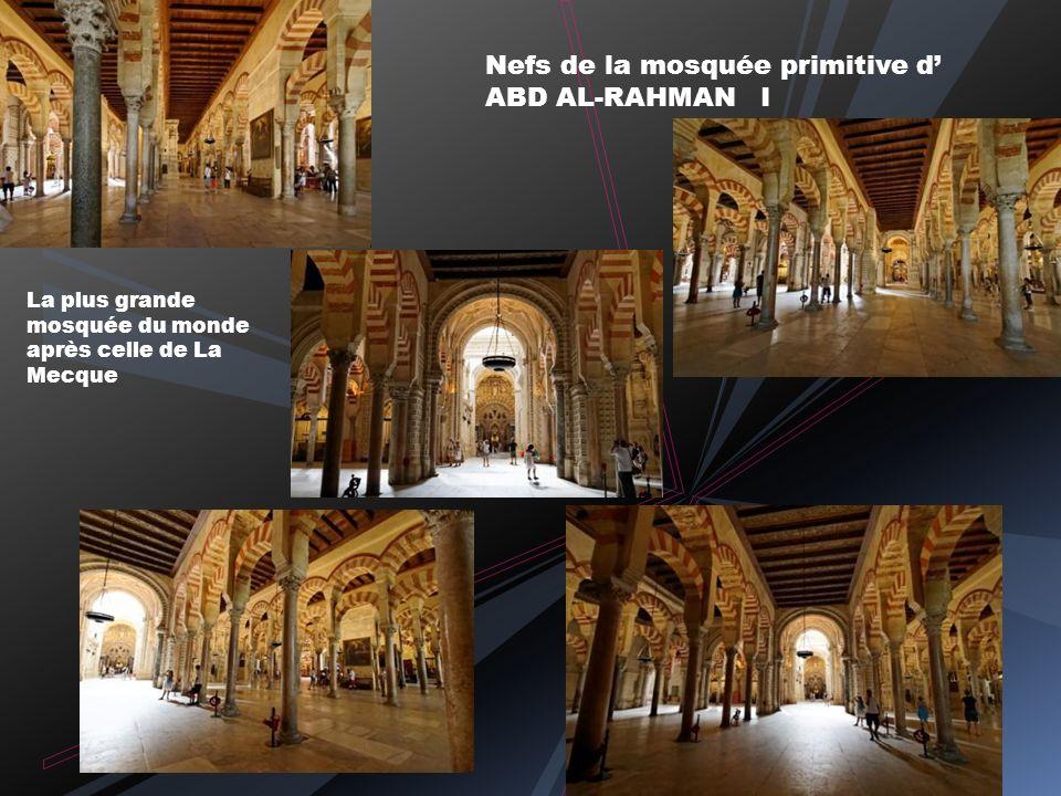 Nefs de la mosquée primitive d' ABD AL-RAHMAN I
