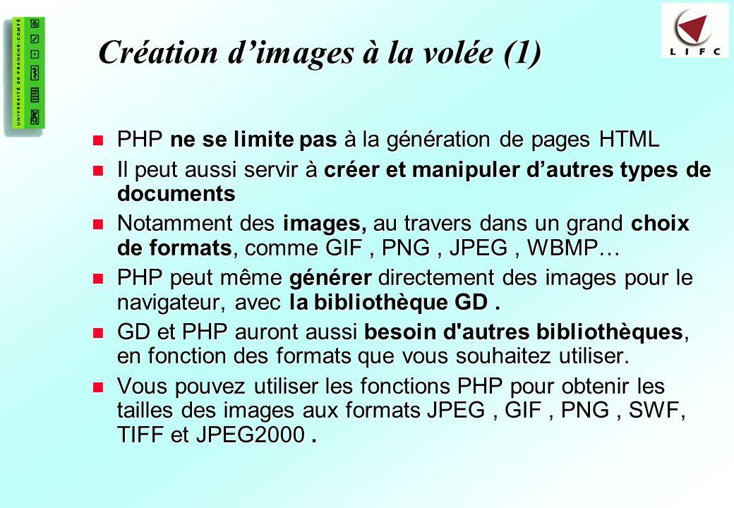 Création d'images à la volée (1)