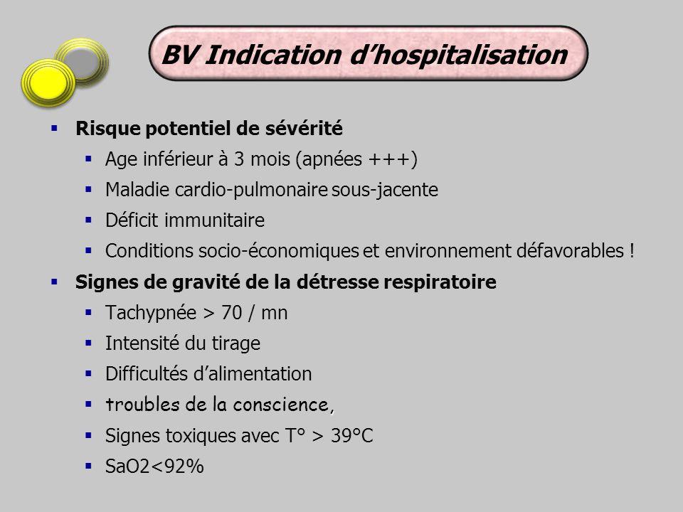 BV Indication d'hospitalisation
