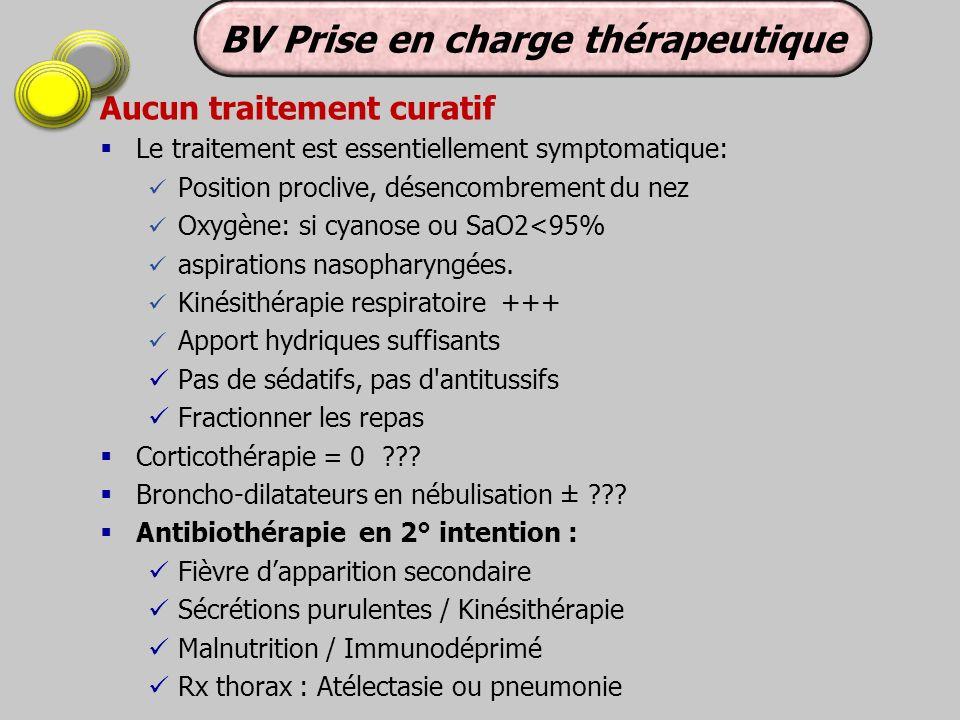 BV Prise en charge thérapeutique