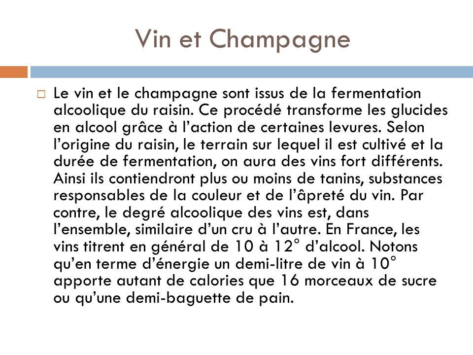 Vin et Champagne