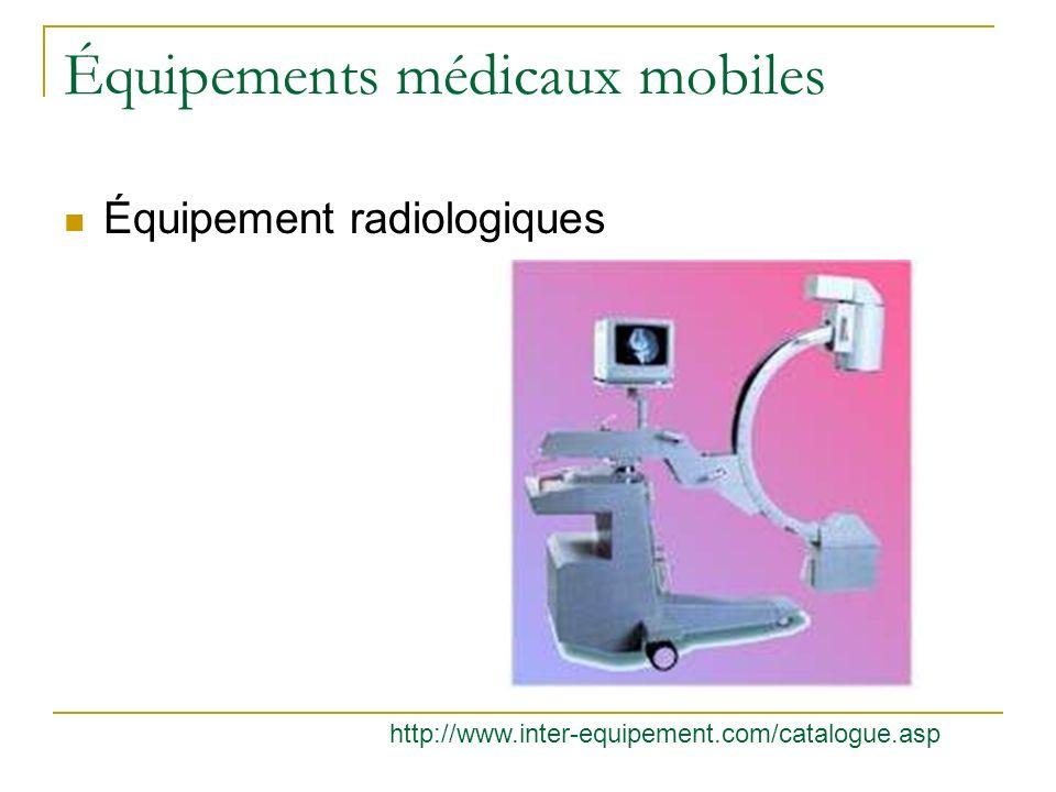 Équipements médicaux mobiles