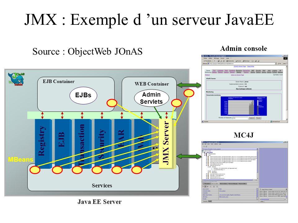 JMX : Exemple d 'un serveur JavaEE