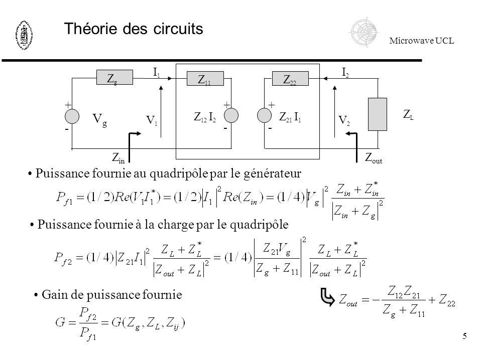 Théorie des circuits Vg