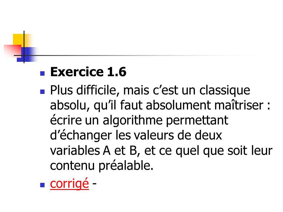 Exercice 1.6