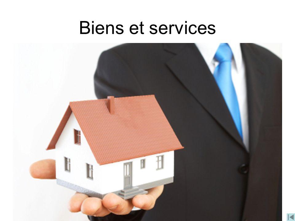 Biens et services