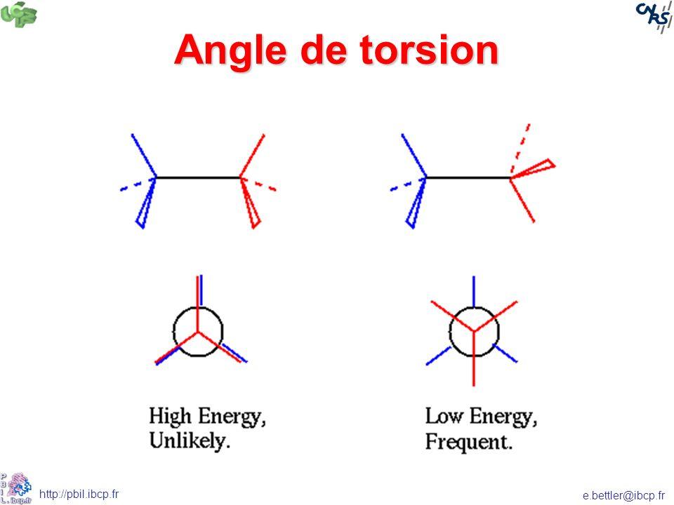 Angle de torsion