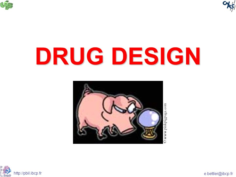 DRUG DESIGN © www.pinkpigpage.com