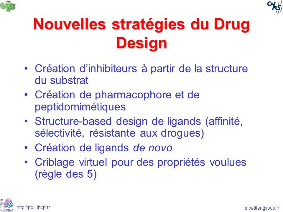 Nouvelles stratégies du Drug Design