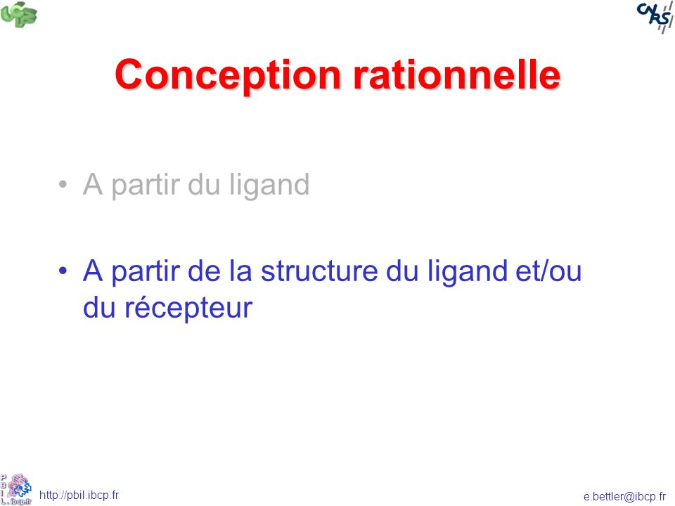 Conception rationnelle