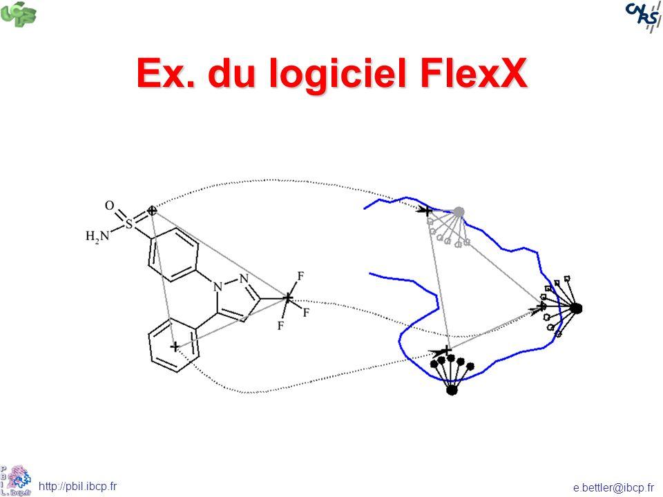 Ex. du logiciel FlexX