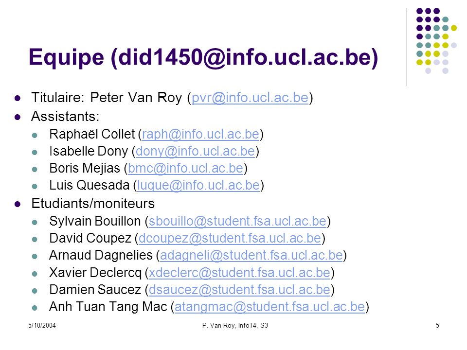 Equipe (did1450@info.ucl.ac.be)