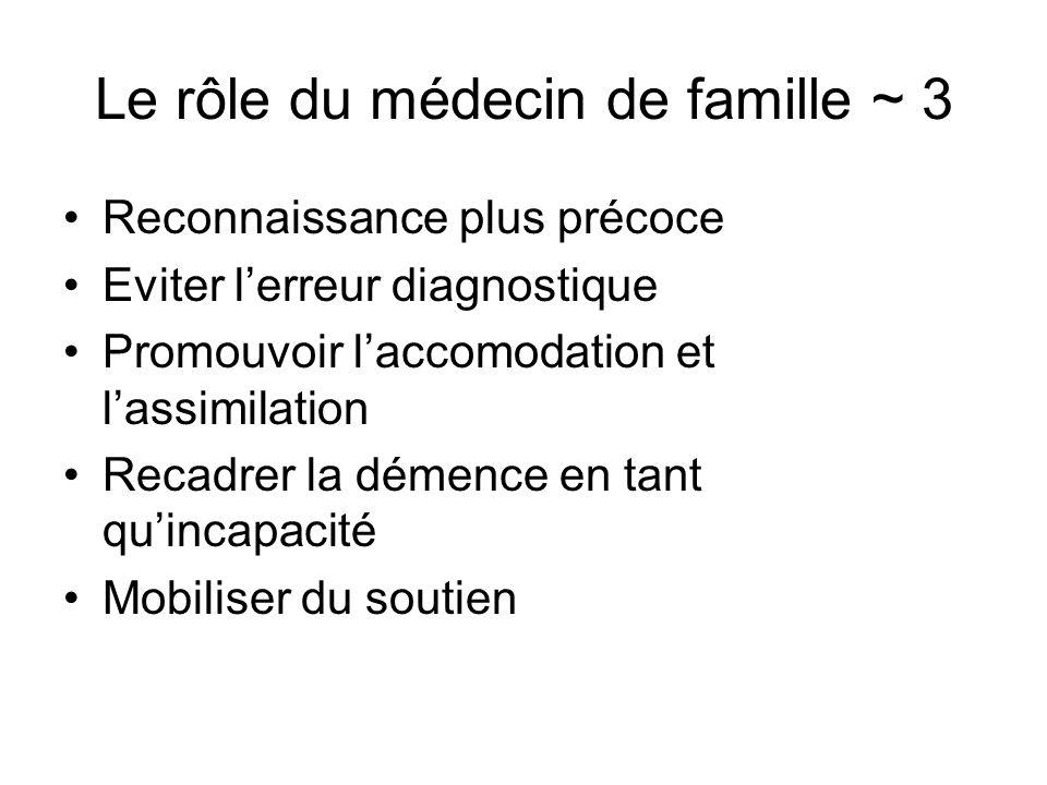 Le rôle du médecin de famille ~ 3