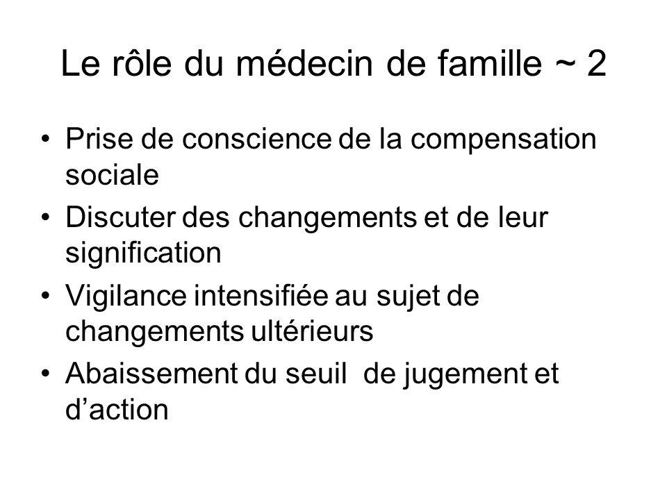 Le rôle du médecin de famille ~ 2
