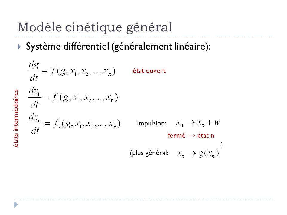 Modèle cinétique général