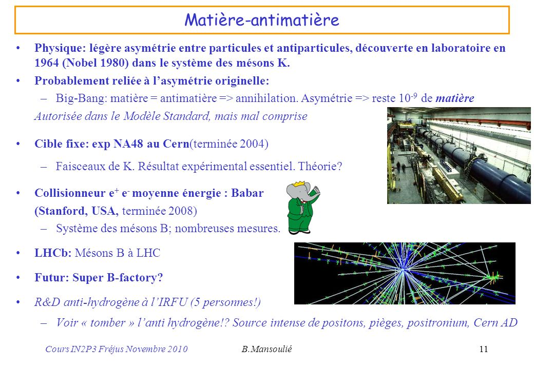Matière-antimatière