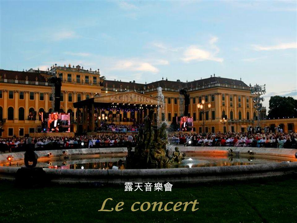 露天音樂會 Le concert