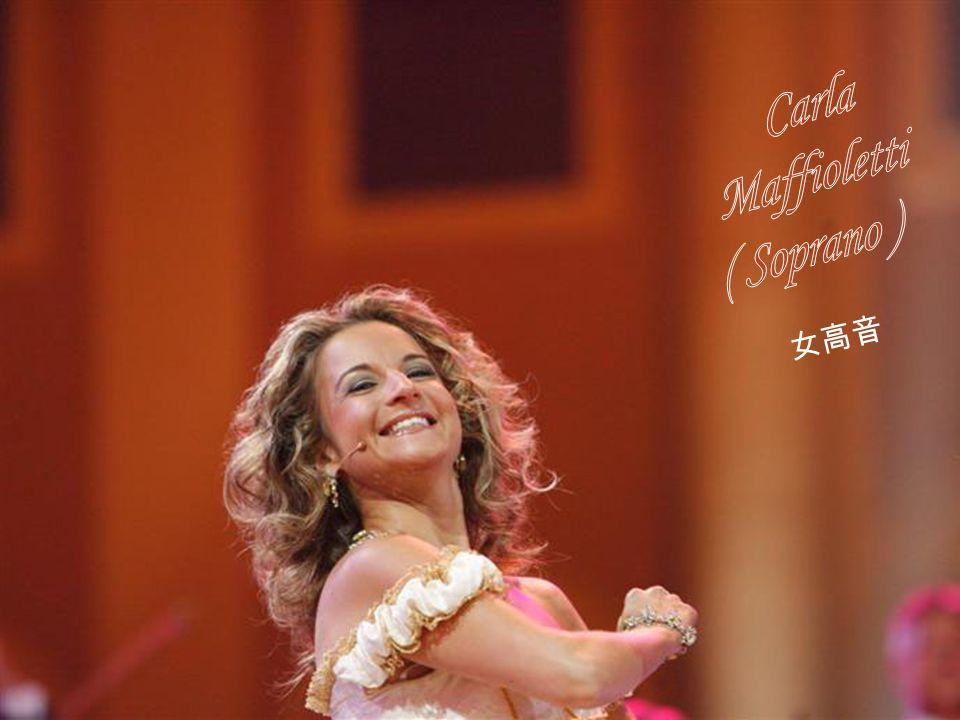 Carla Maffioletti ( Soprano ) 女高音