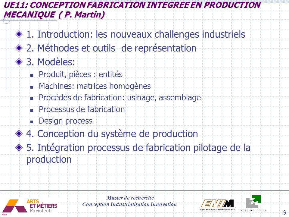 1. Introduction: les nouveaux challenges industriels