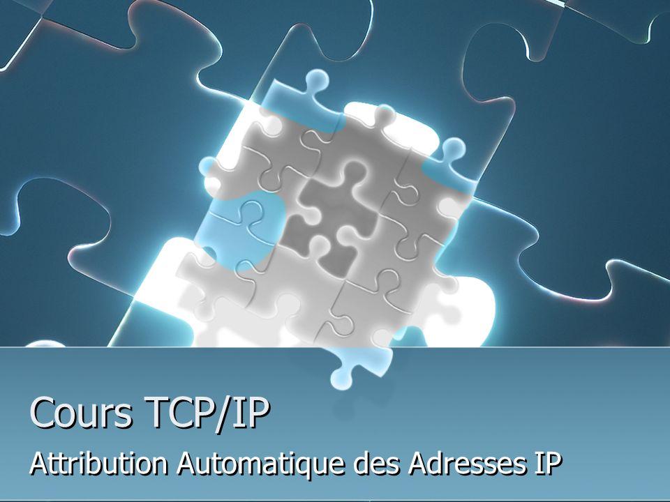 Attribution Automatique des Adresses IP