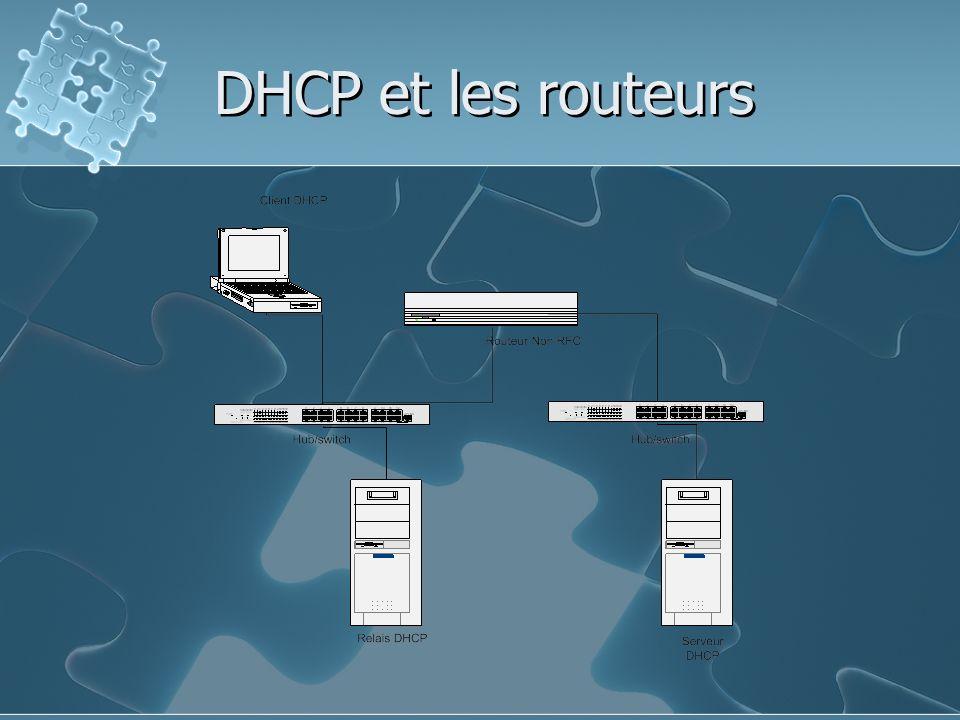DHCP et les routeurs