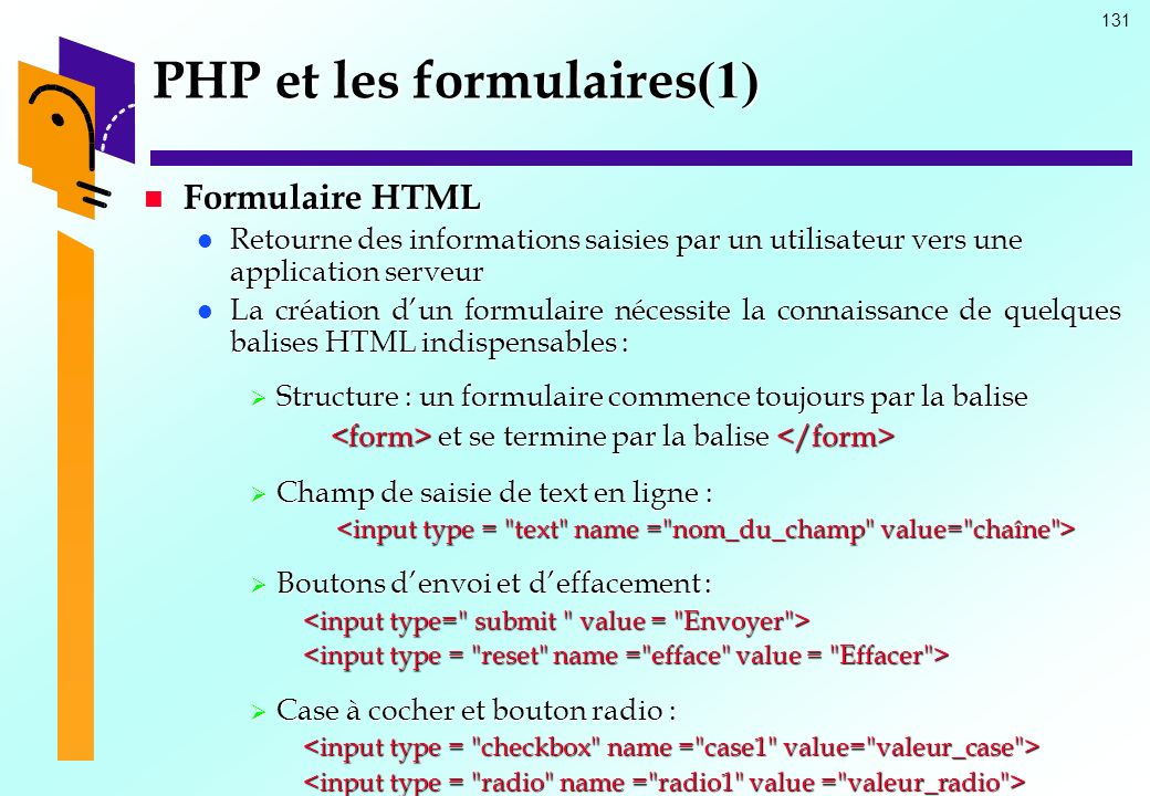 PHP et les formulaires(1)