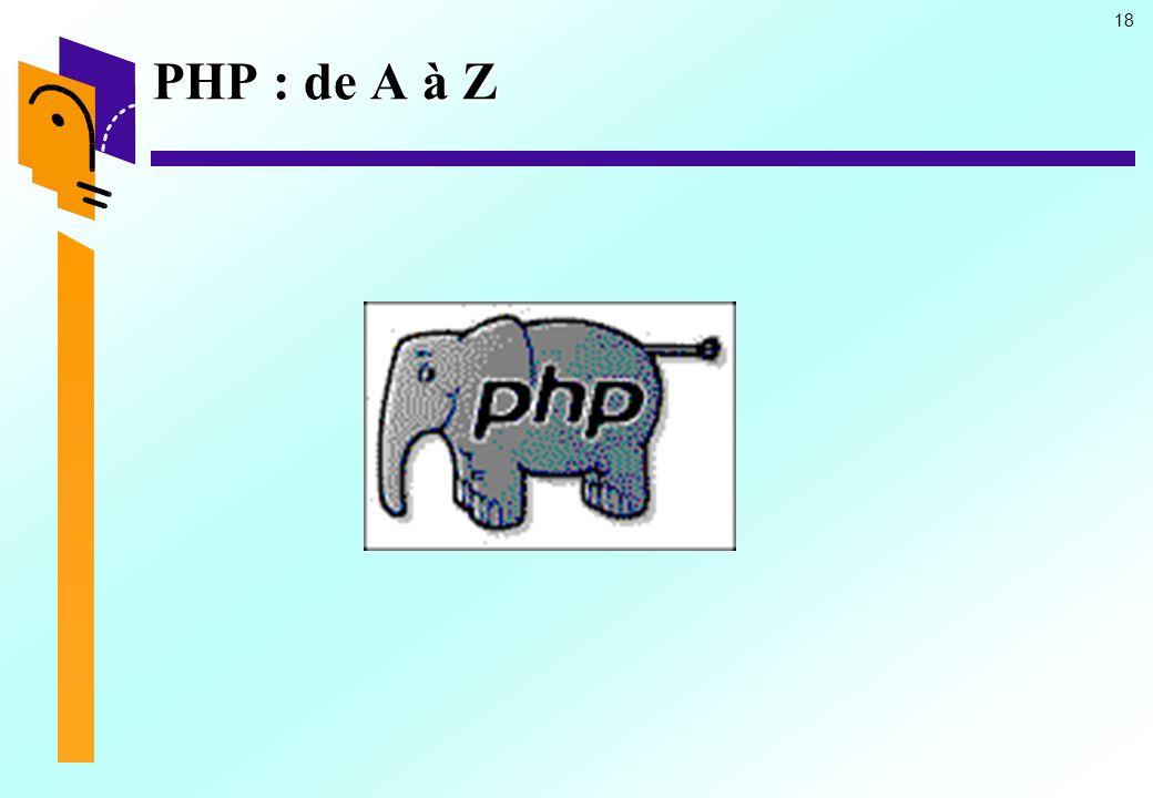 PHP : de A à Z