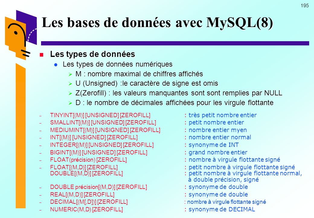 Les bases de données avec MySQL(8)