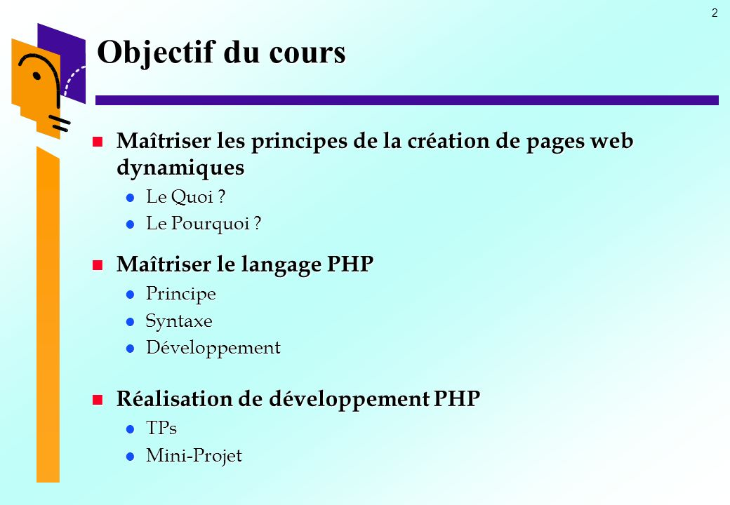 langage php pour les nuls