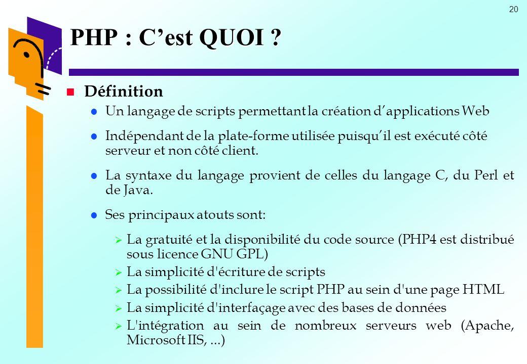 Php C Est Quoi