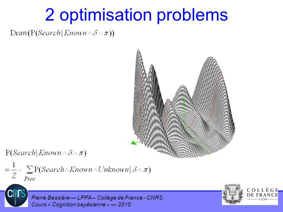 2 optimisation problems