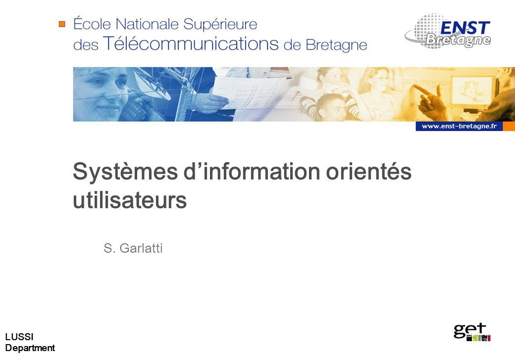 Systèmes d'information orientés utilisateurs