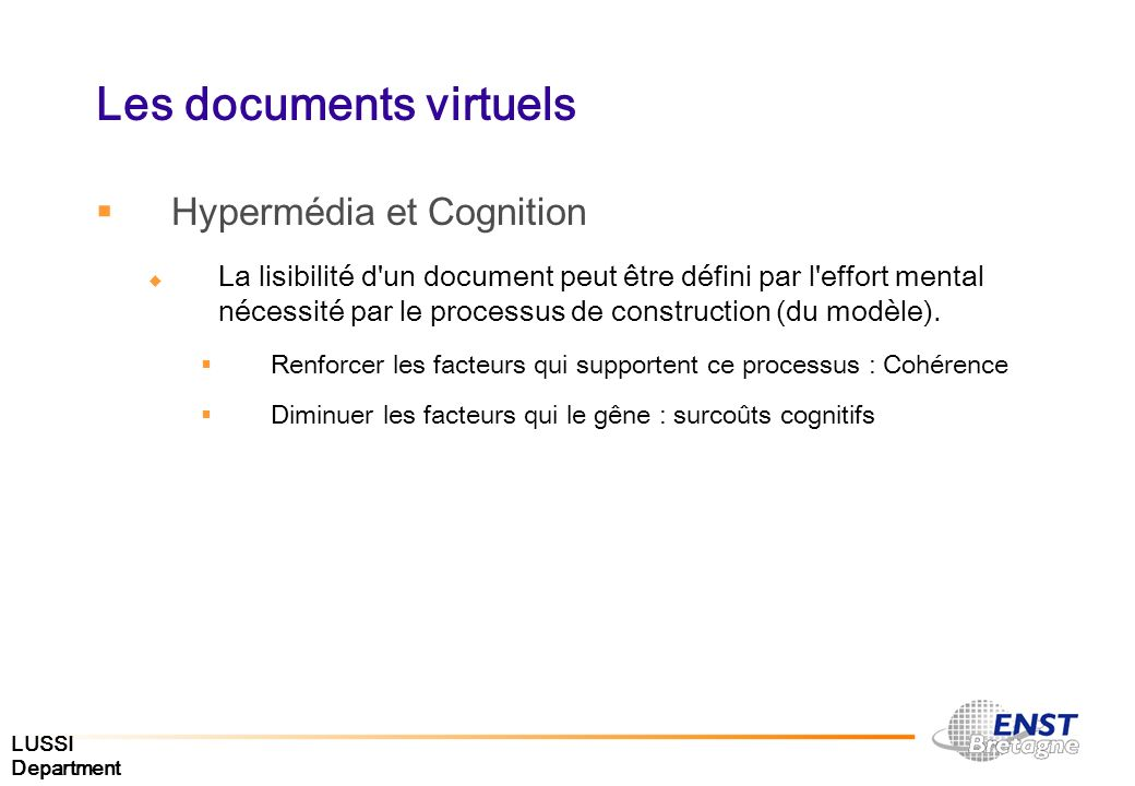 Les documents virtuels